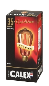 Decor Rustieklamp Gold 35w E27